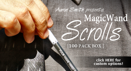 Magic Wand Scrolls by Aaron Smith!